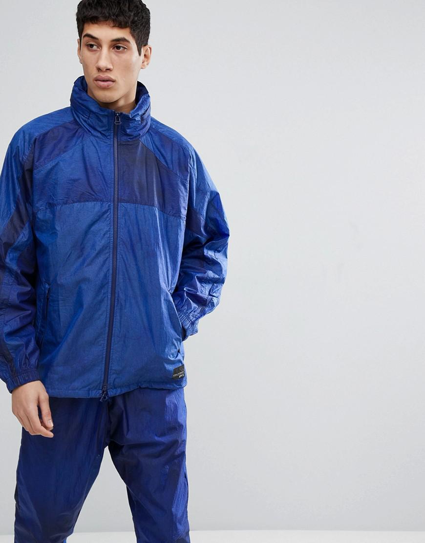 Lyst Adidas Originali Eqt Traccia Giacca In Marina Cv8587 In Blu Per Gli Uomini.