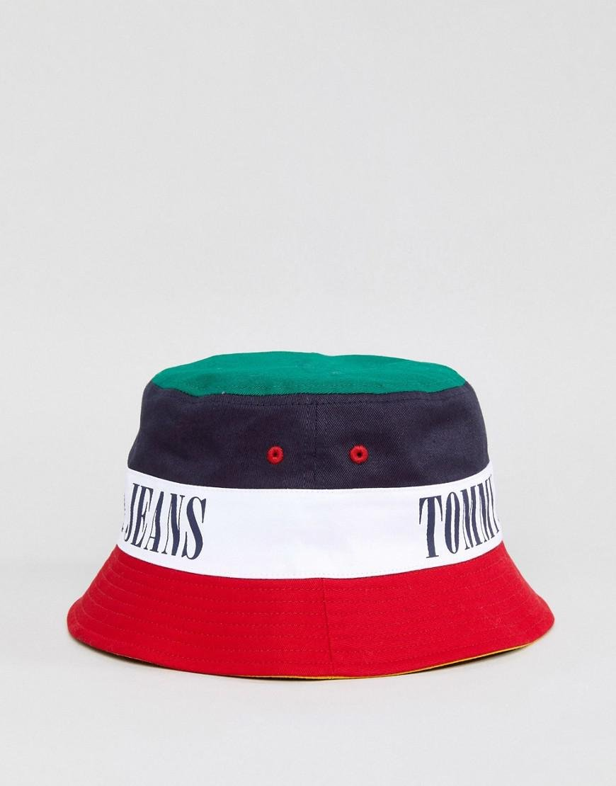 dcb7e20e875 Lyst - Tommy Hilfiger Tommy Jean 90s Capsule Bucket Hat