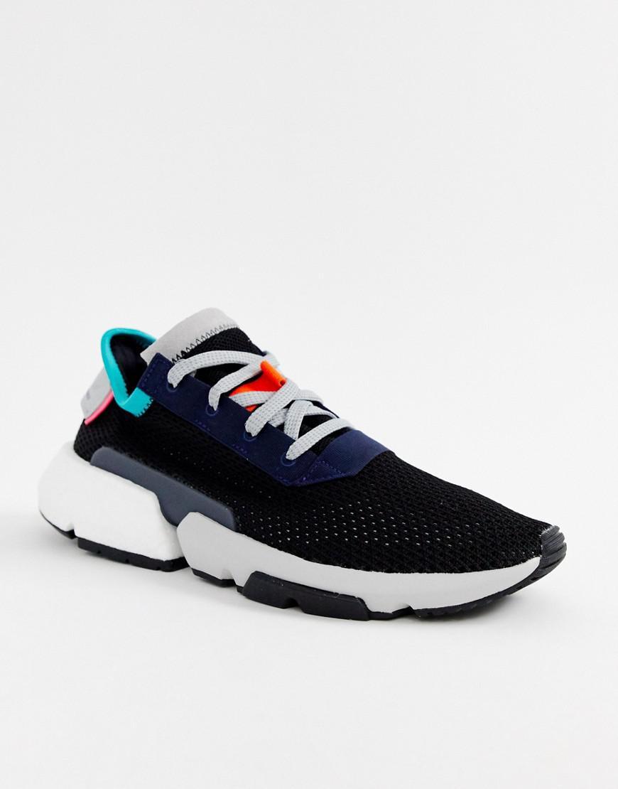 new product 68988 7497f adidas Originals. Mens Pod-s3.1 Sneakers In Black B28080