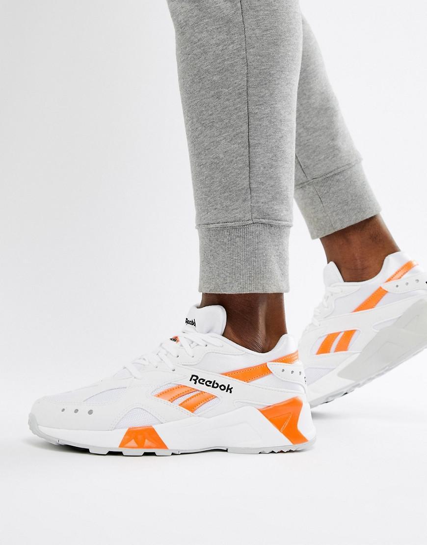 438cc981f03 Reebok Aztrek 90s Sneakers In White Cn7472 in White for Men - Lyst