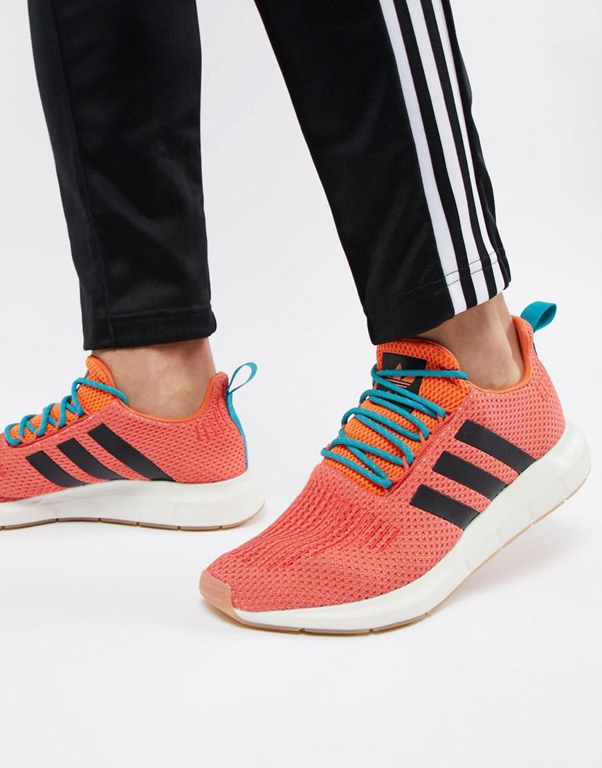 7b0e703b8 adidas Originals Swift Run Summer Sneakers In Orange Cq3086 in ...