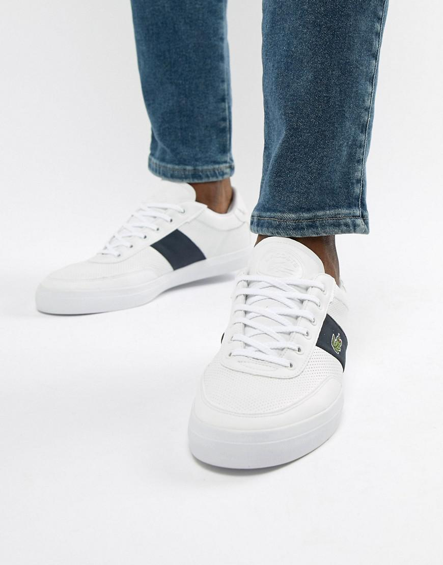 d0947c0e2 Lacoste Court Master 318 1 Trainers In White in White for Men - Lyst