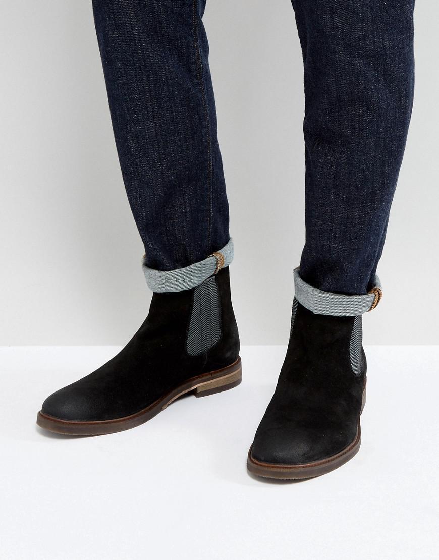 Steve Madden. Men's Teller Suede Chelsea Boots ...