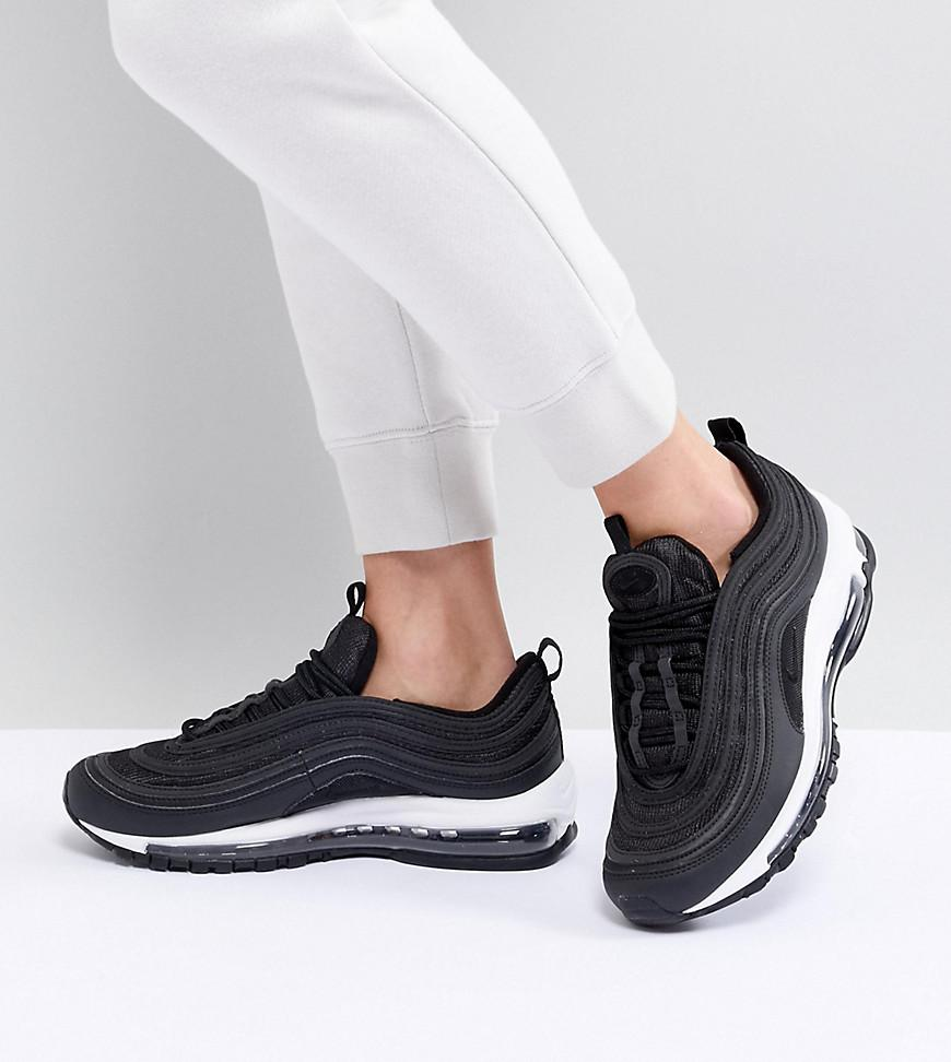 new product c8816 bf61e Nike - Air Max 97 Sneakers In Black - Lyst. View fullscreen