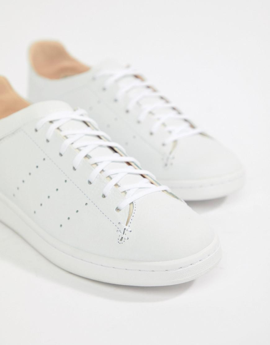 c02b67349 adidas Originals Stan Smith Lea Sock Sneakers In White Cq3031 in White for  Men - Lyst