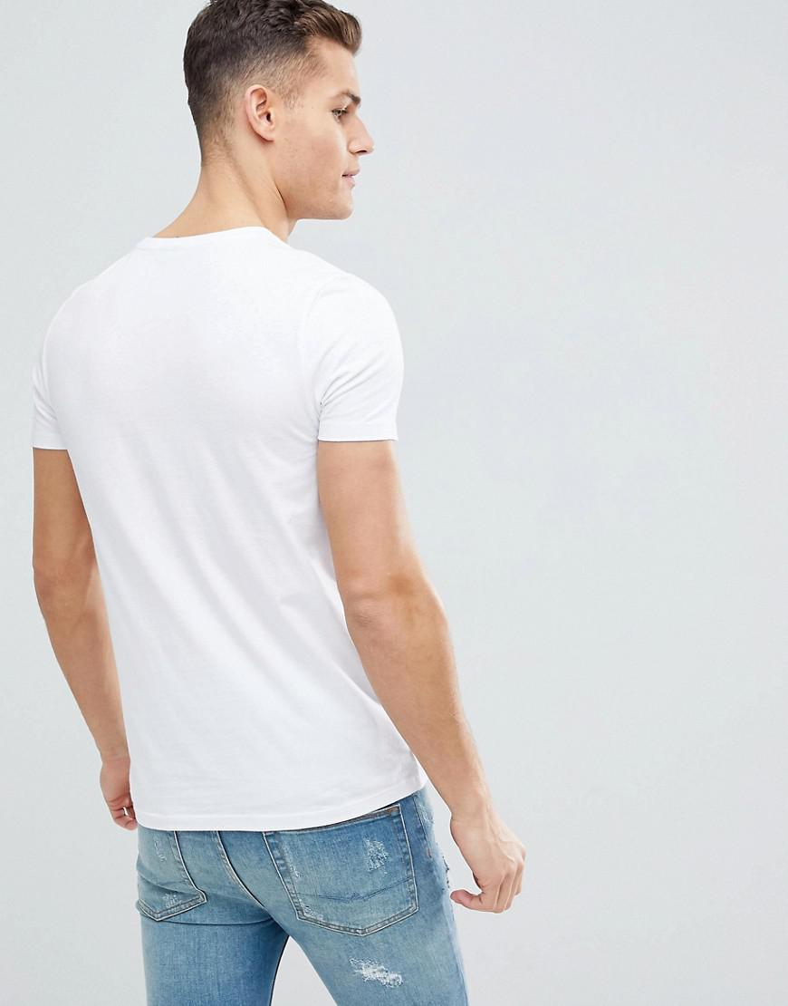 5babdb085 ASOS T-shirt With Merci French Slogan Print in White for Men - Save 38% -  Lyst