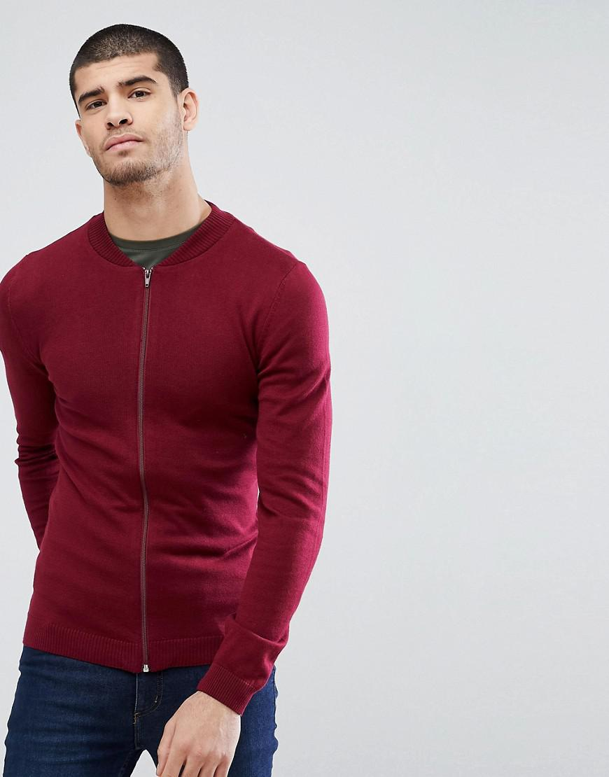 6d9042891eb5 asos-red-Asos-Knitted-Muscle-Fit-Bomber-Jacket-In-Burgundy.jpeg