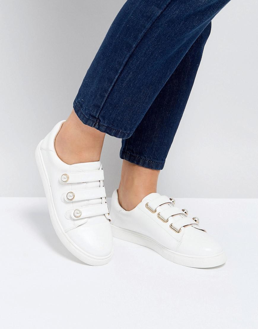 Miss KG Pearl Stud Trim Sneaker x9HP5d7L9d