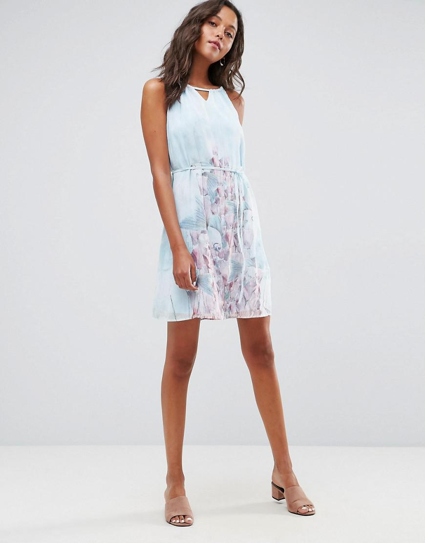 Cheapest Online Strappy Floral Dress - Multi Lavand Best Store To Get Cheap Price Free Shipping For Cheap Reliable For Sale Pick A Best fGAXlB27g