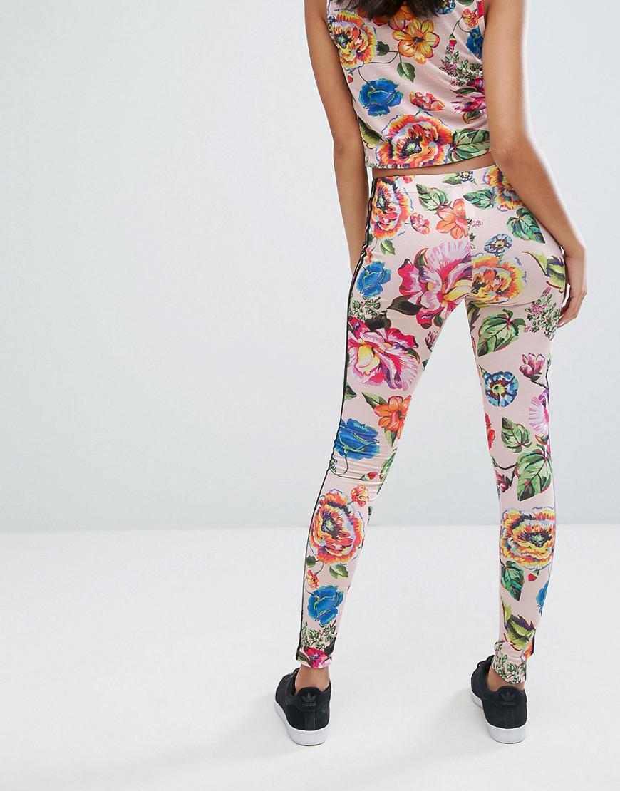 4ae4204e94b adidas Originals Originals X Farm Floralita Tights - Lyst