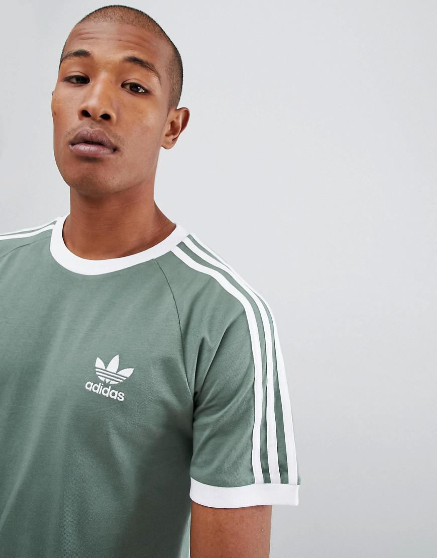 fdc86e9f5b8 Lyst - adidas Originals California T-shirt In Green Dv2553 in Green ...