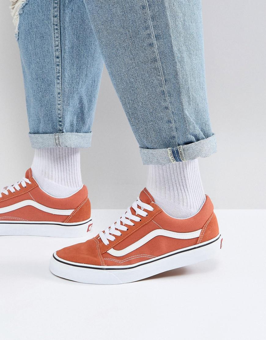vans old skool white asos