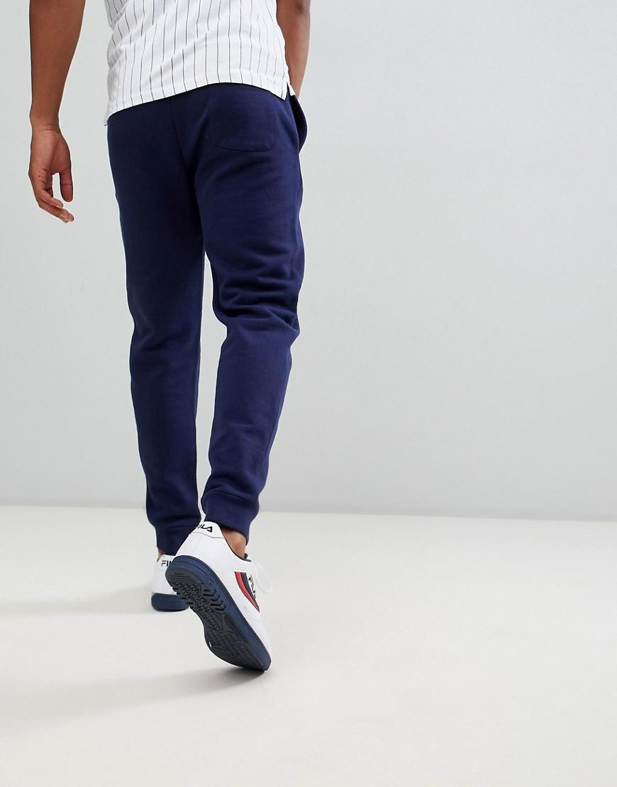 7ecdb4a891400 Fila Black Line Marlow Joggers With Logo In Navy in Blue for Men - Lyst