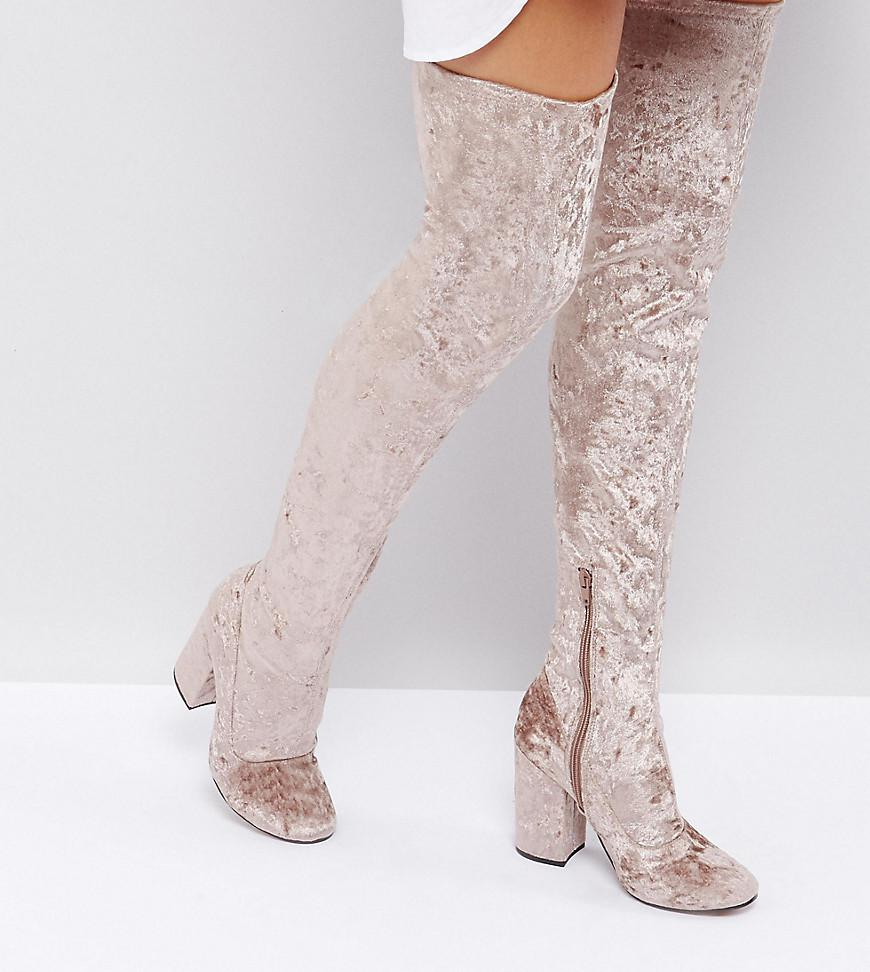 KATCHER PETITE Heeled Over The Knee Boots cheap sale extremely free shipping cheap real genuine cheap price buy cheap pre order X8fig