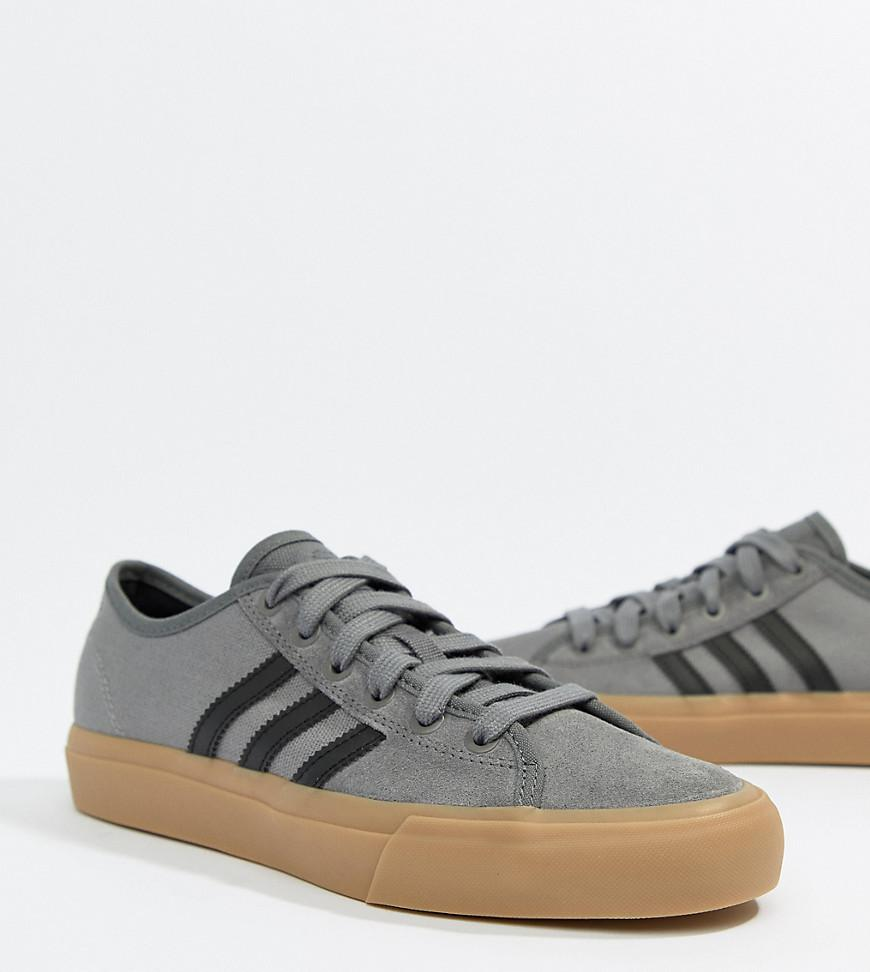 adidas Adidas Skate Boarding Matchcourt Rx Sneakers With Gum Sole