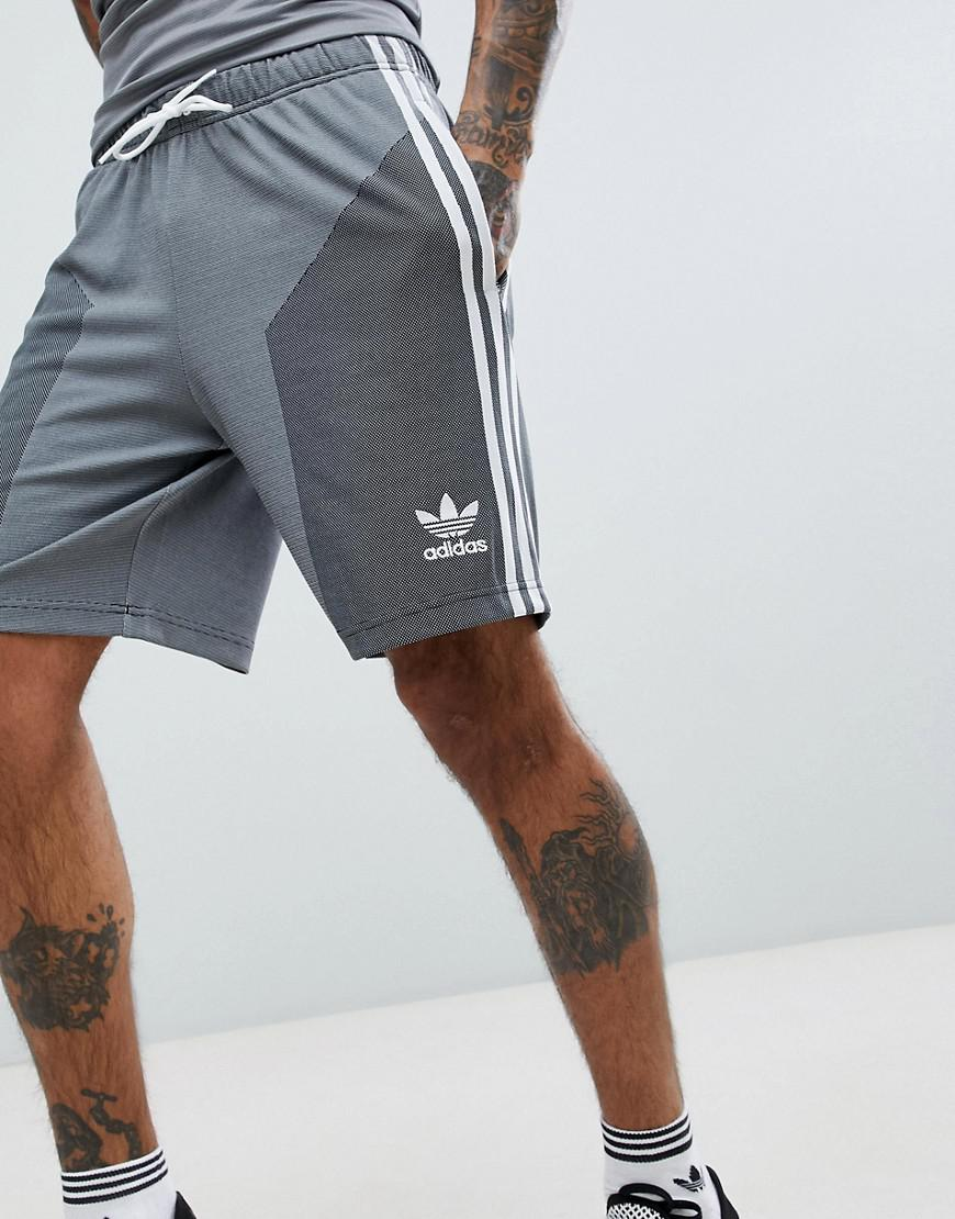 new products 2250b 9881e Lyst - adidas Originals Plgn Shorts In Grey Cw5111 in Gray for Men