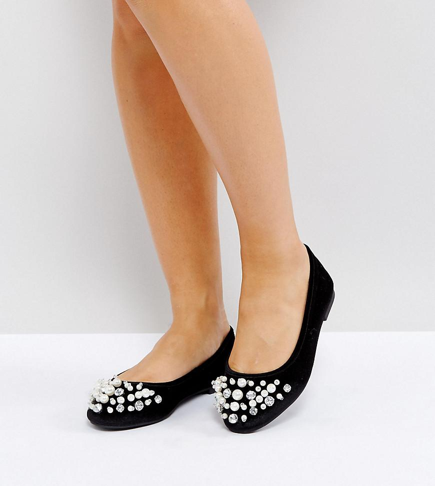 view cheap online LUELLA Wide Fit Embellished Ballet Flats cheap sale latest collections discounts for sale sale best store to get cheap sale best prices OA14Bjv