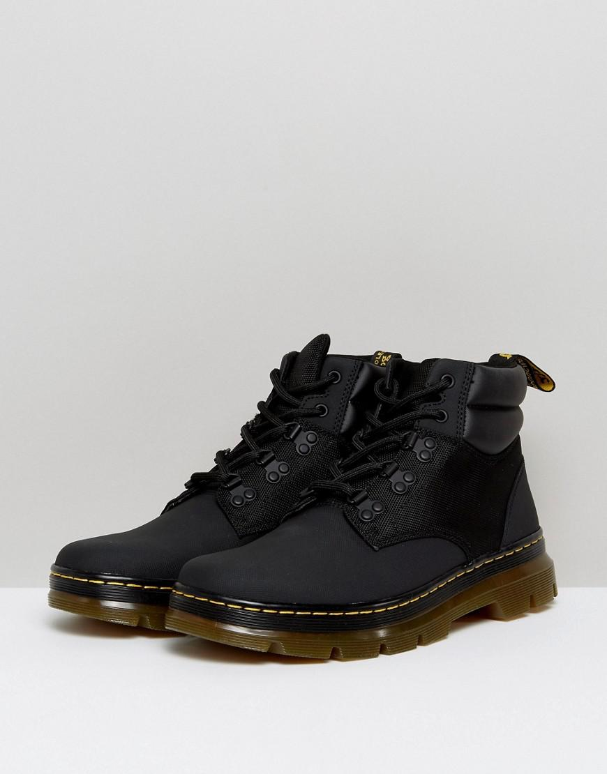 Rakim Hiking 5-Eye Boots - Black Dr. Martens 5LFDBT