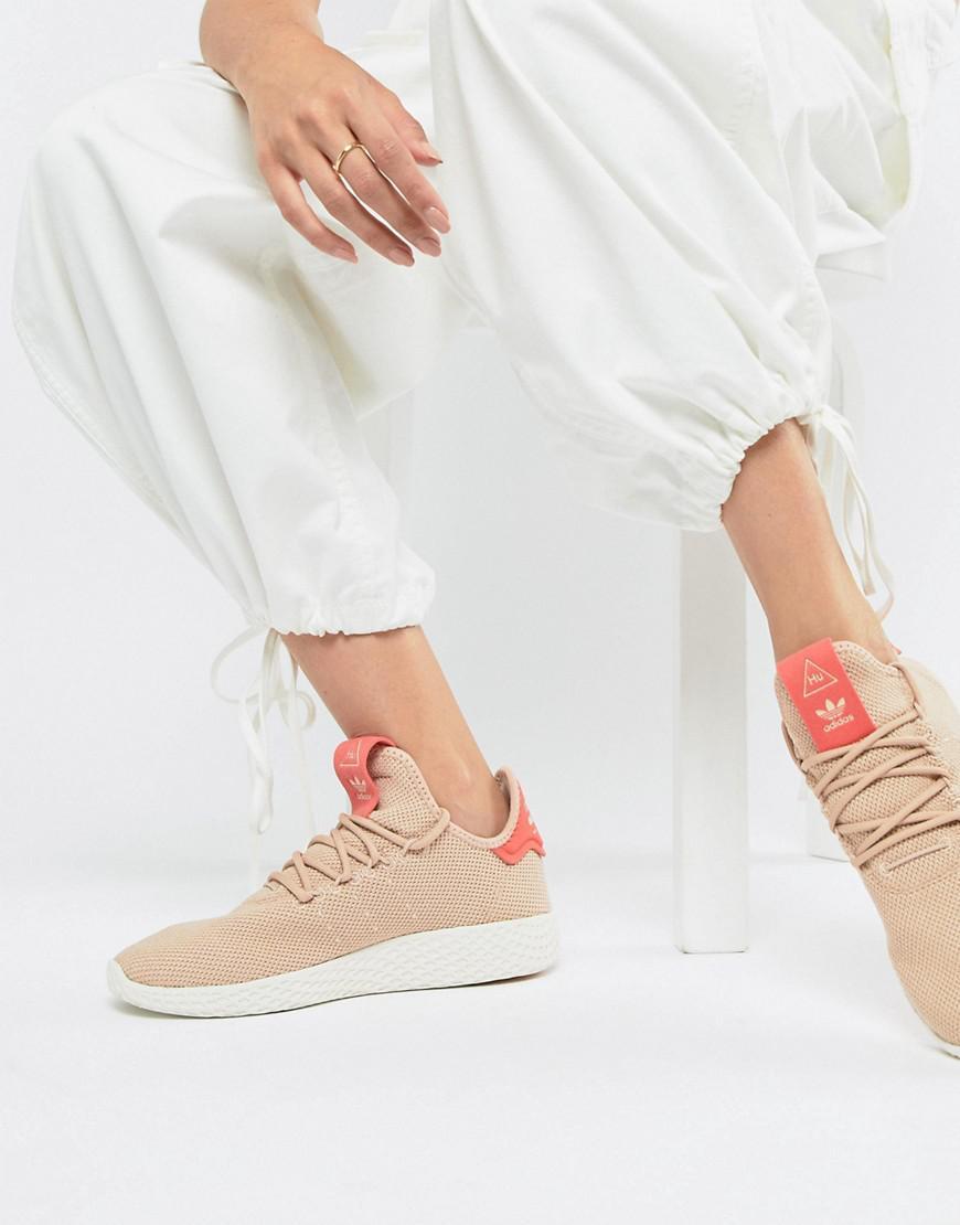 0c5d061c5d78d Lyst - adidas Originals Pharrell Williams Tennis Hu Sneakers In Pink ...
