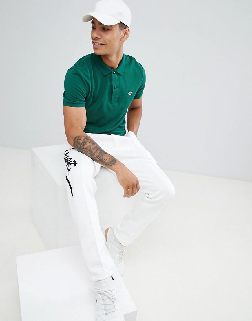 Coloris Homme En Polo Pour Piqu Ajust Lacoste Vert Lyst 40qwYzY