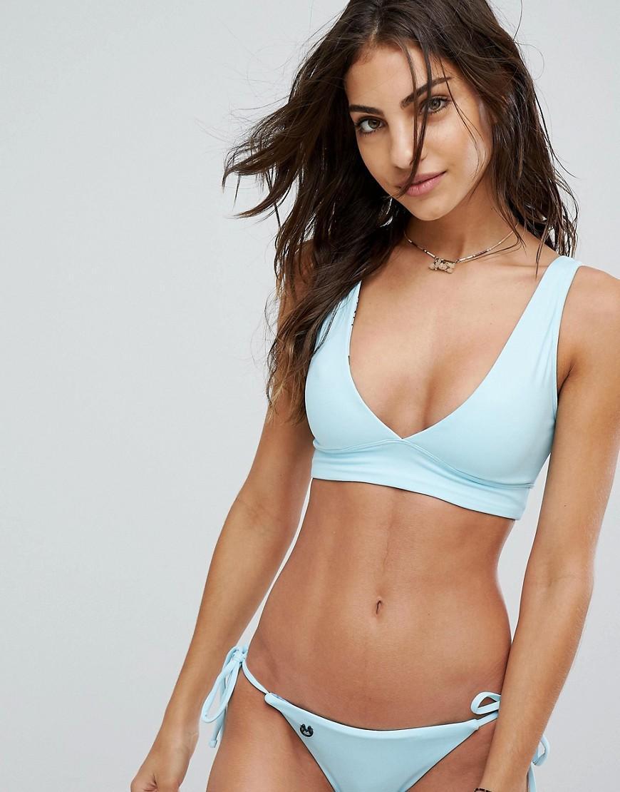 f9fd3dcbd3d75 Maaji Crystal Blue Allure Reversible 4 Way Bikini Top in Blue - Lyst