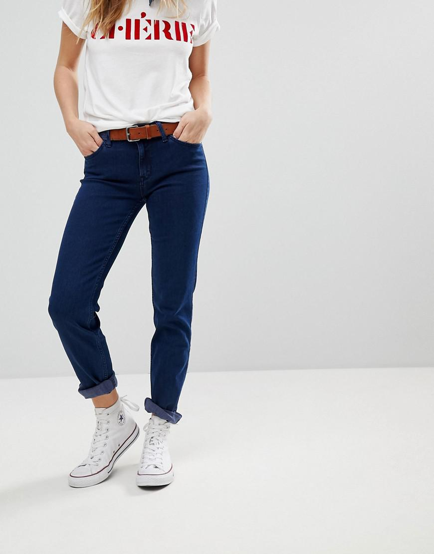 5e25d53e Lee Jeans Elly Straight Leg Jean in Blue - Lyst
