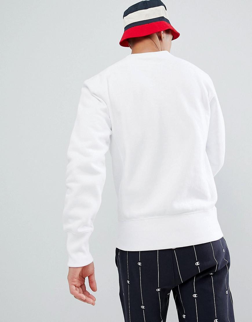 Grand Maille Lettres Shirt En Sweat Lyst Logo Avec Inverse q7Tn6wx