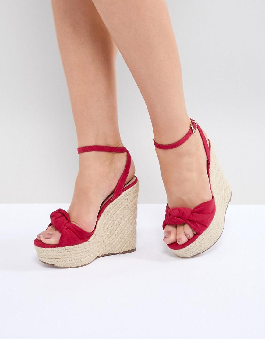 Piper Wedge Sandals - Pink Kurt Geiger MwIQnfU