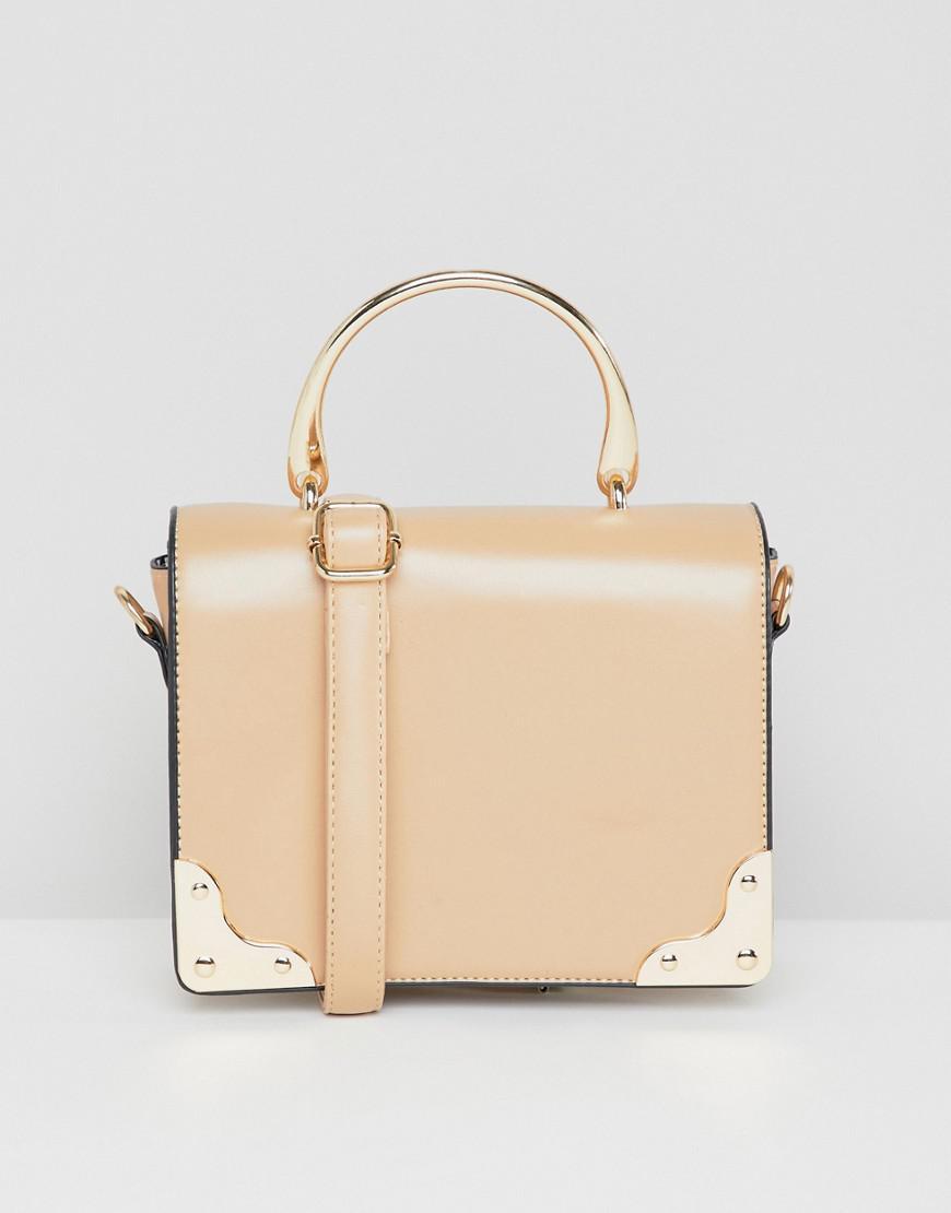41b4082b7f Yoki Fashion Yoki Folder Over Cross Body Bag in Natural - Lyst