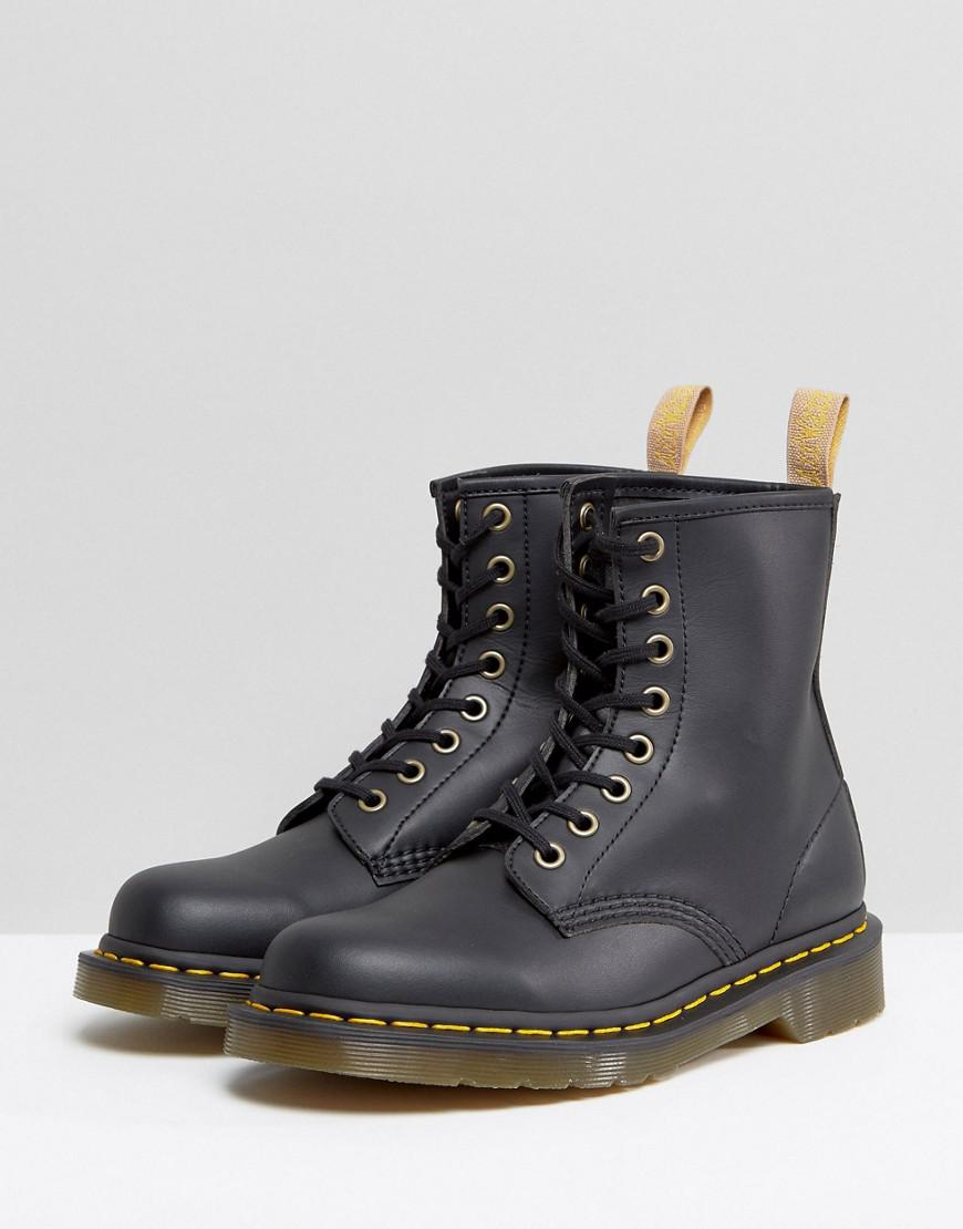 c28fc8c39fa Lyst - Dr. Martens Lace Up 8 Eye Boot in Black
