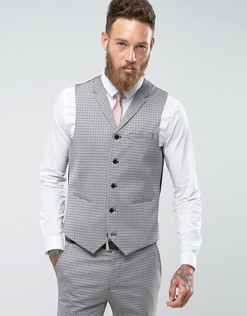 Discount With Mastercard Cheap Sale Extremely Rudie Plain Super Skinny Waistcoat - Navy Rudie vVvb4ej