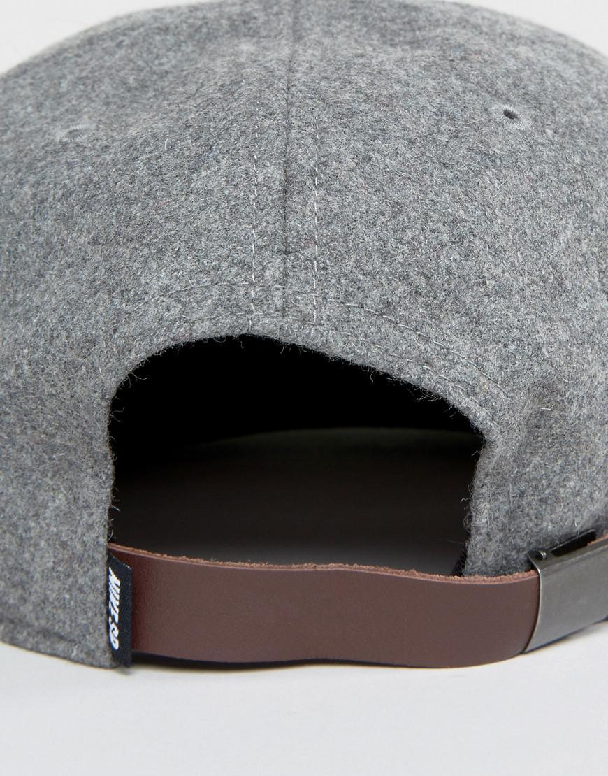 ccf3dd3686b Nike Infield Pro Cap In Grey 806050-063 in Gray for Men - Lyst