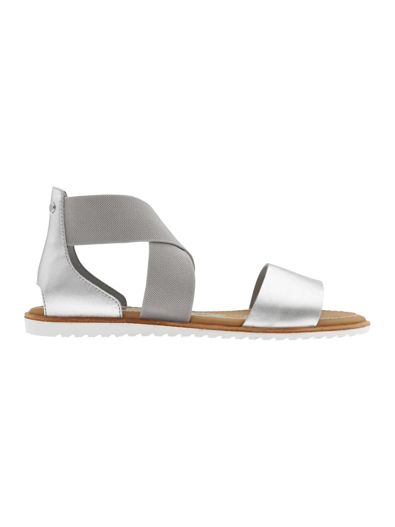 6828a6721 Lyst - Athleta Ella Sandal By Sorel® in Metallic