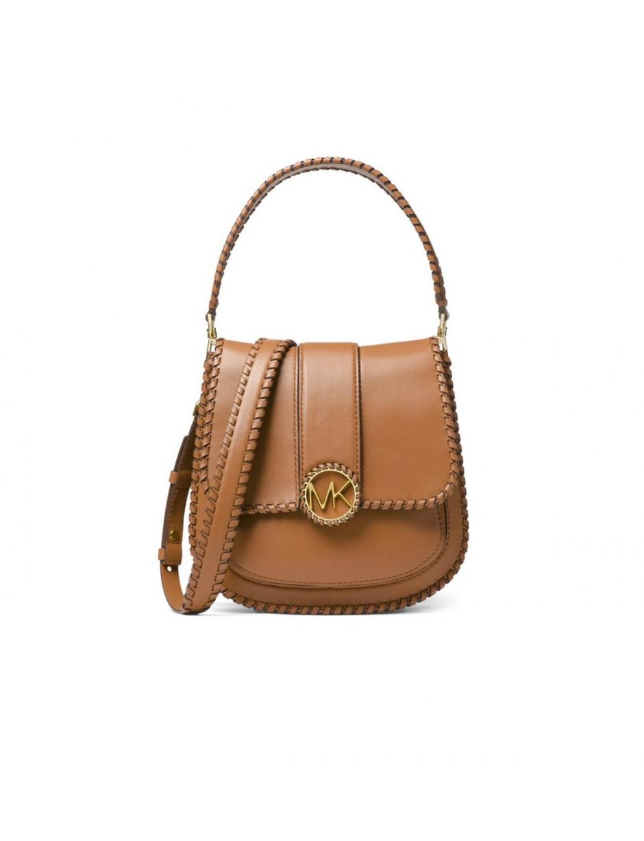a44a13436edc MICHAEL Michael Kors. Women s Michael Kors Light Brown Lillie Medium Flap Messenger  Bag