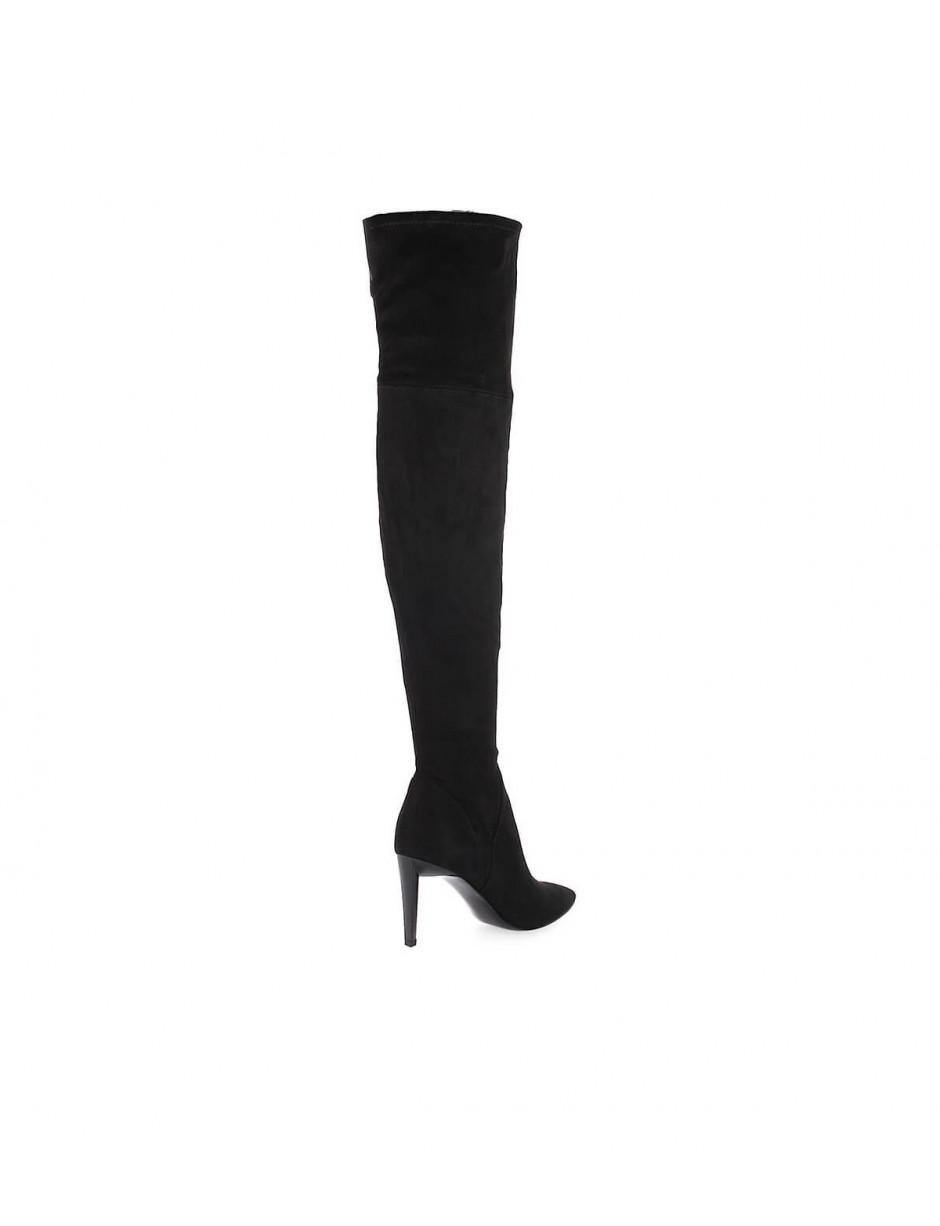 dcda67b33a9 Kendall + Kylie Kendall And Kylie Black Suede Zoa Heeled Boot 36.5 in Black  - Lyst