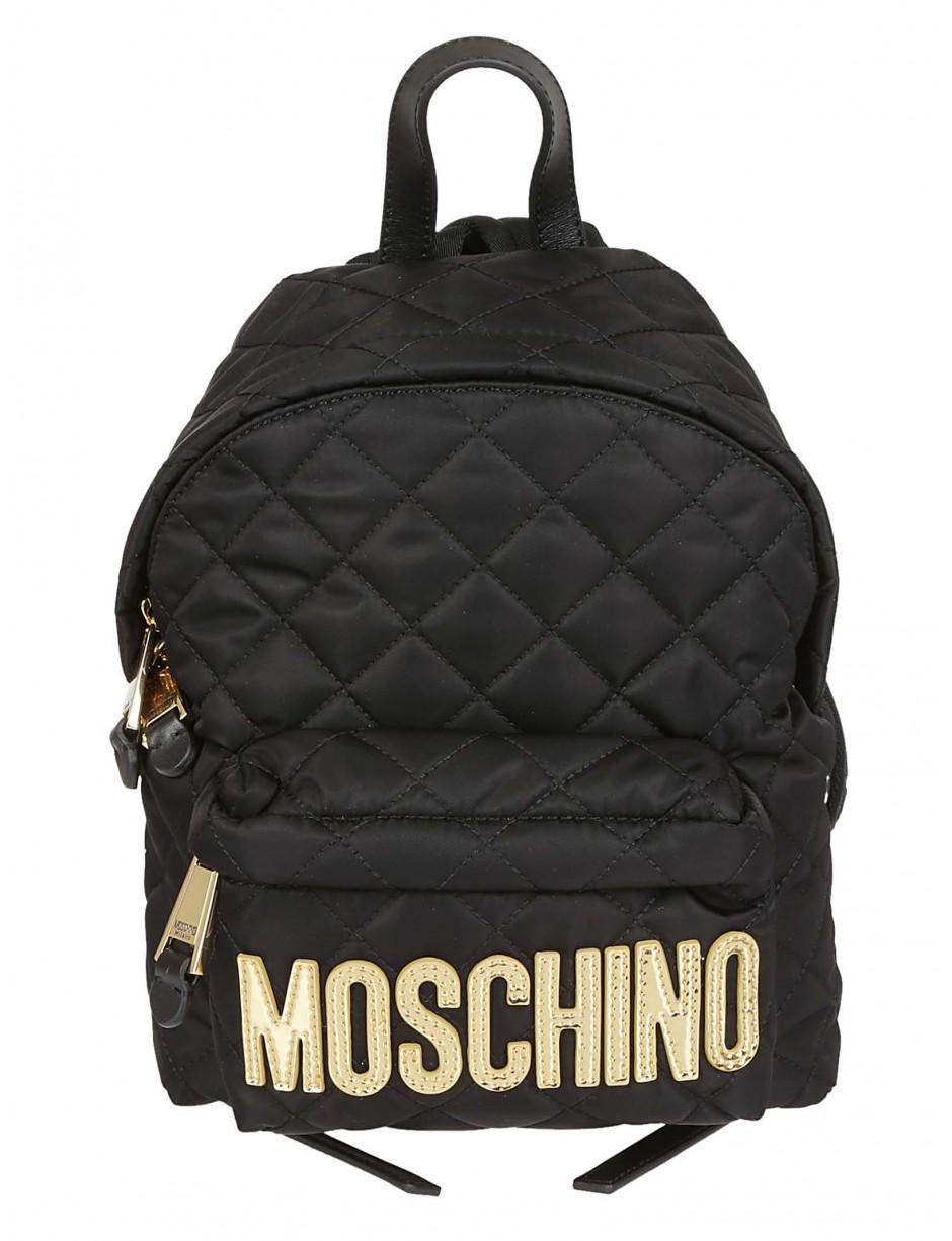 4e827d9dd2 Lyst - Moschino Zaino Matelassè Nero in Black