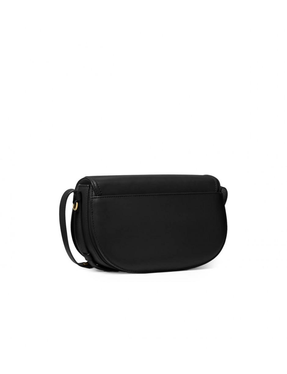 0397932bb74 Lyst - Michael Michael Kors Michael Kors Black Cary Medium Saddle Bag in  Black