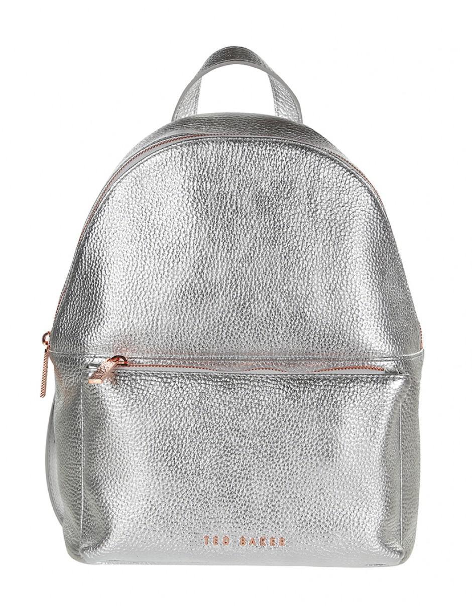 fb6237127 Ted Baker Women's Pearen Leather Backpack in Metallic - Lyst
