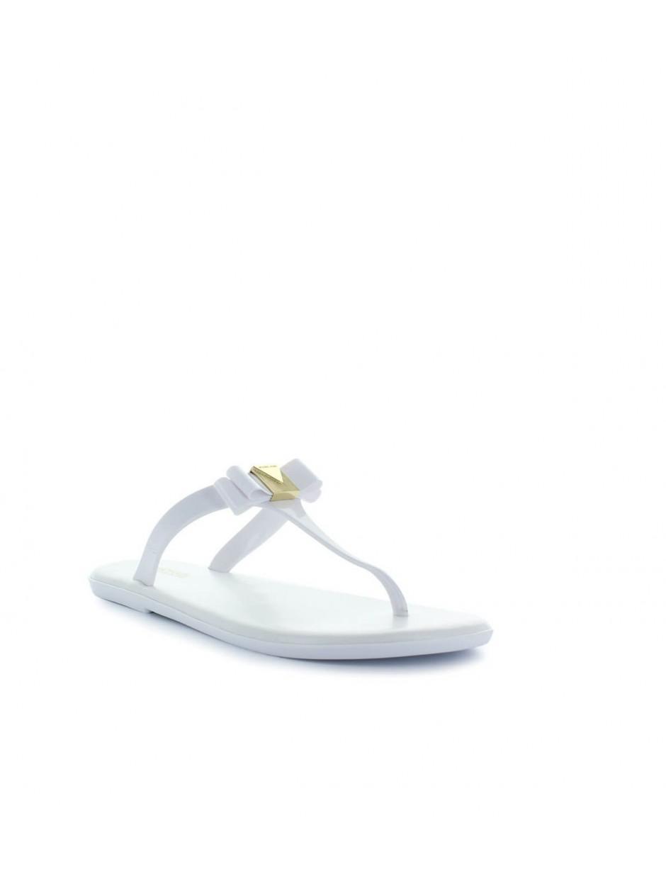 577d3bb4391b MICHAEL Michael Kors. Women s Michael Kors Caroline Jelly White Thong Sandal  38