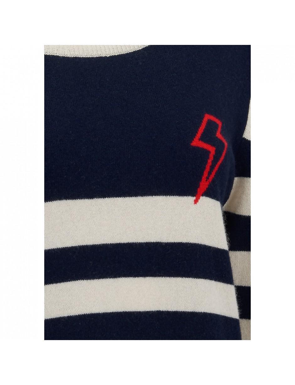 Orwell + Austen Orwell + Austen Baby Bowie Stripe Jumper in Blue - Lyst 70ce4e906