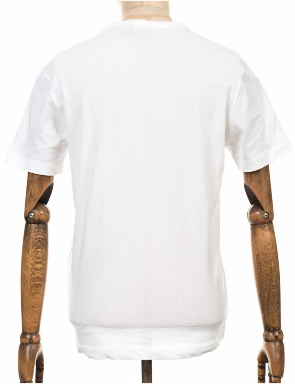 de48d3245928 Champion Reverse Weave Crewneck Tee in White for Men - Lyst