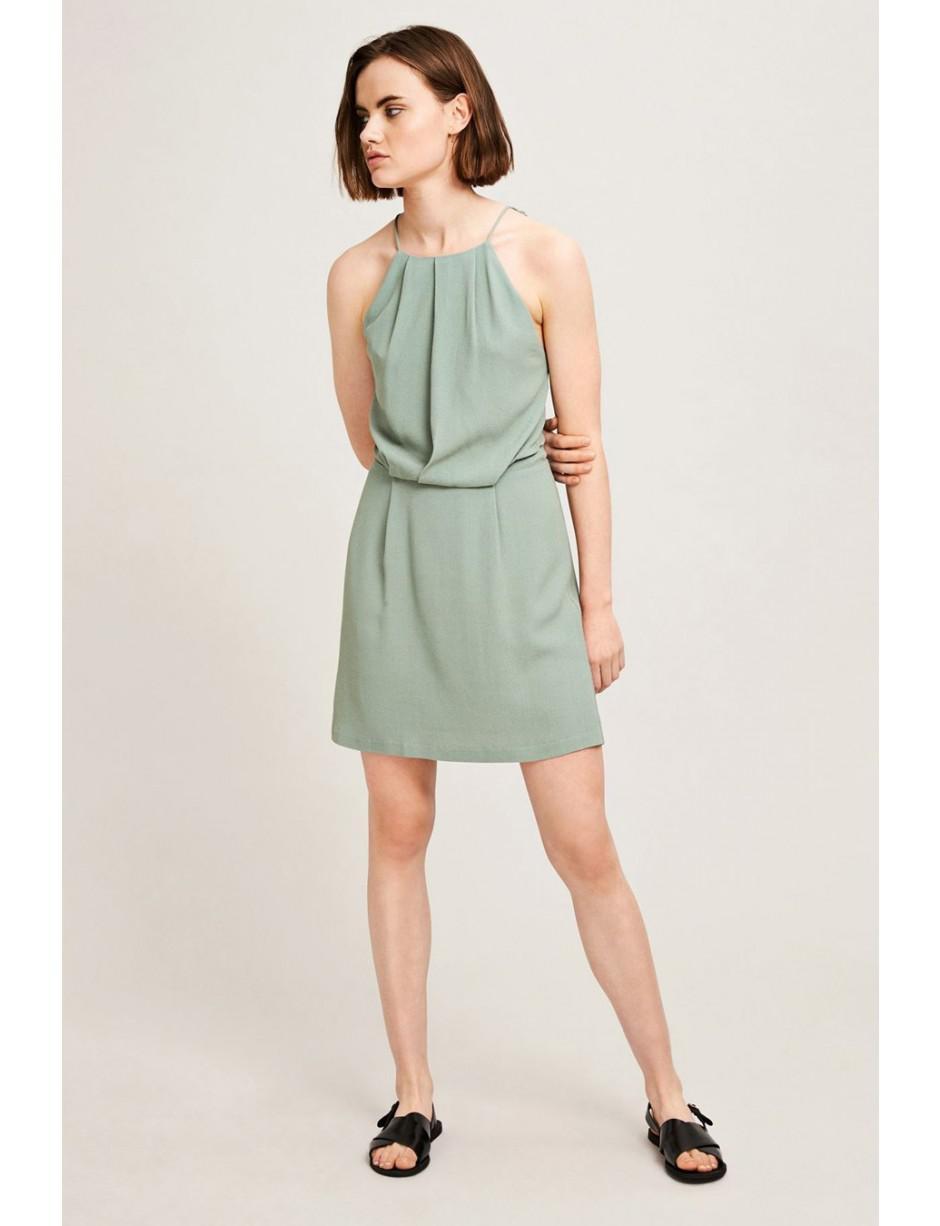 ced712d1658eff Samsøe   Samsøe Willow Chinois Green Short Dress in Green - Lyst