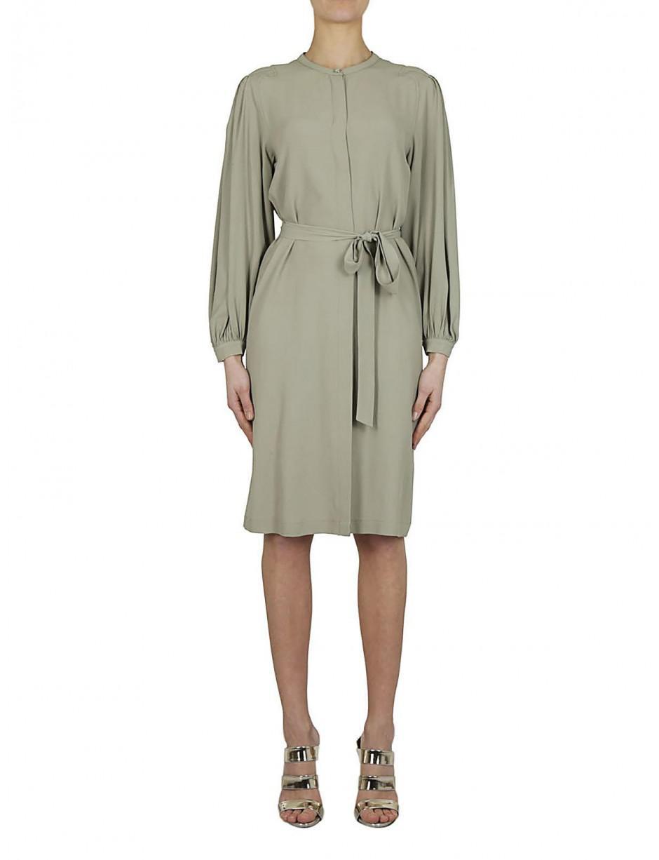 puff sleeve shirt dress - Blue Erika Cavallini Semi Couture dc3gW6TU1