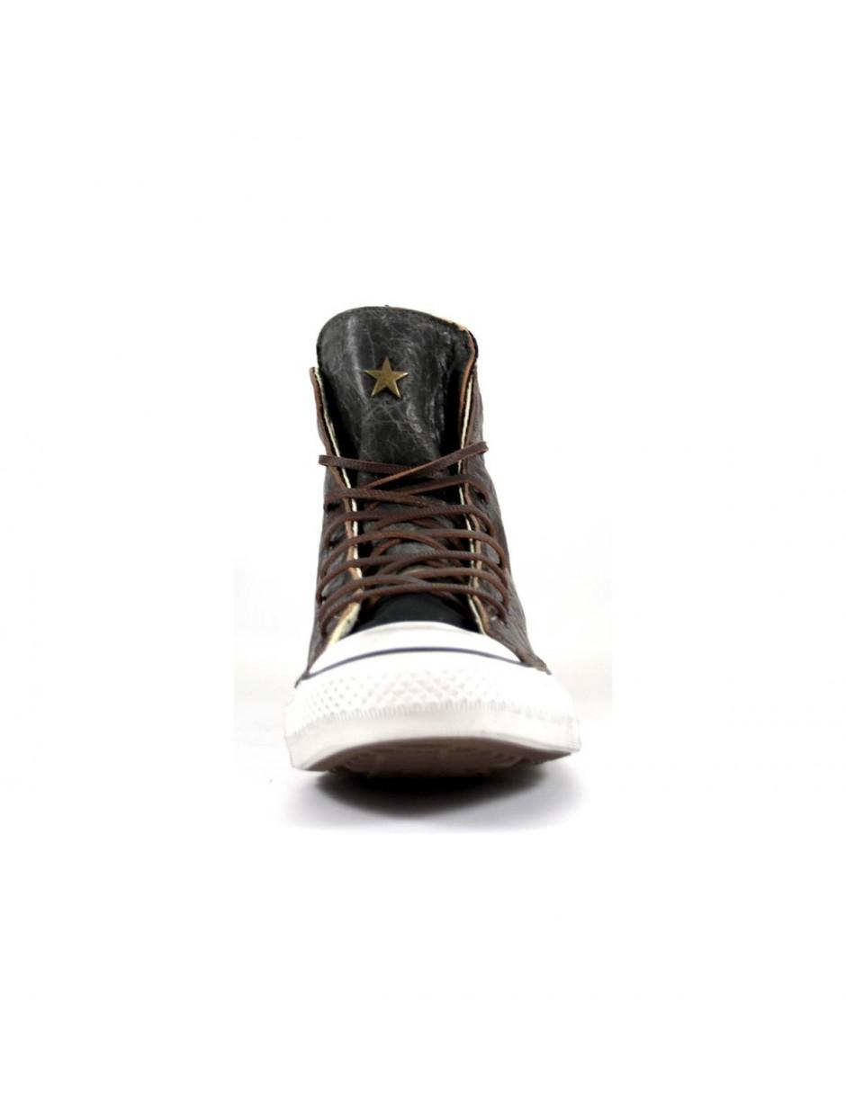 e587cd05bc78 Converse Limited Ed. All Star Hi Premium Brown green Sneakers 40 in Brown  for Men - Lyst