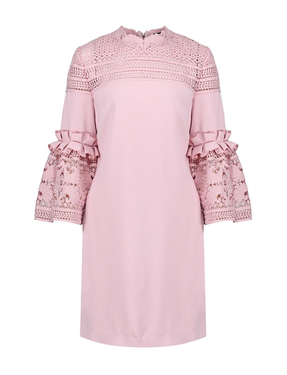 5cc5592c3 Ted Baker Lucila Dress in Pink - Lyst