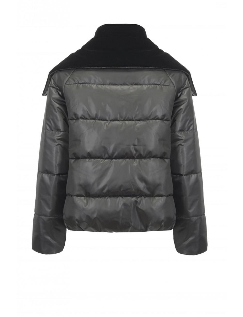 e1ee8b7dff Pinko Frontera Black Puffa Down Jacket in Black - Lyst