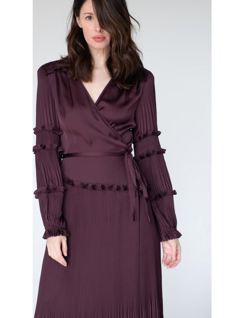 Diane 13Lyst Dress In Save Purple Von Keira Furstenberg 8vmnwN0