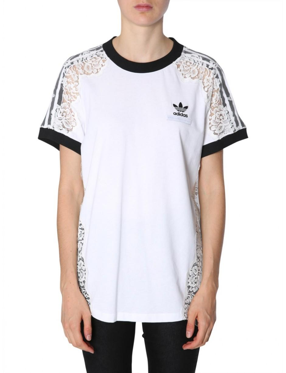 4be5b0ac738 Stella McCartney T-shirt In Co-lab With Adidas in White - Save 31 ...