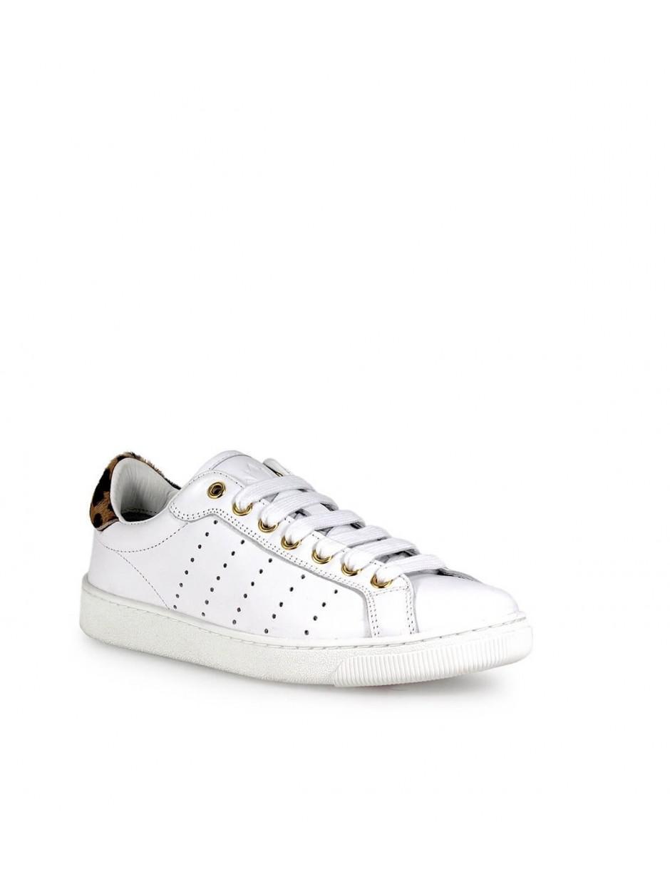 9d589c4839a Lyst - DSquared² Santa Monica Pony White Sneaker 39 in White
