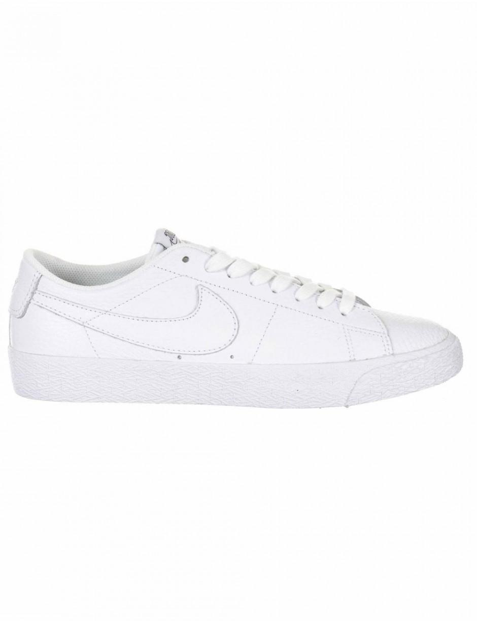 5db528a70adf Lyst - Nike Sb Zoom Blazer Low Nba Trainers in White for Men